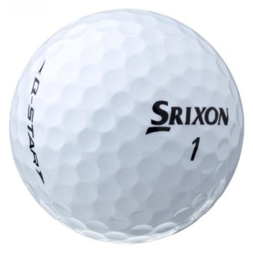 Image of a Srixon Q-star golf ball