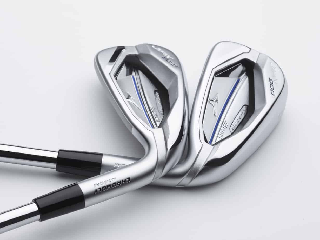 JPX 900 Hot Metal golf irons clubheads.