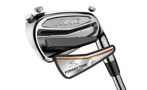 Image of a deconstructed King pro tour golf iron