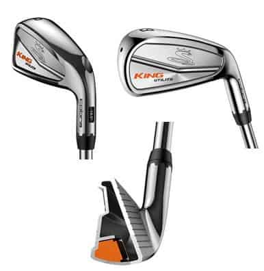 Image of a king utility driving iron from different angles. Best golf club for versatility