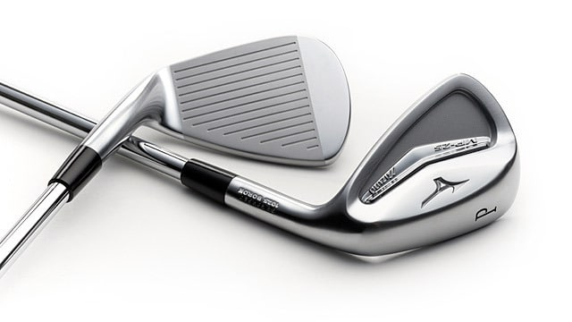 clubhead of Mizuno MP25 golf irons