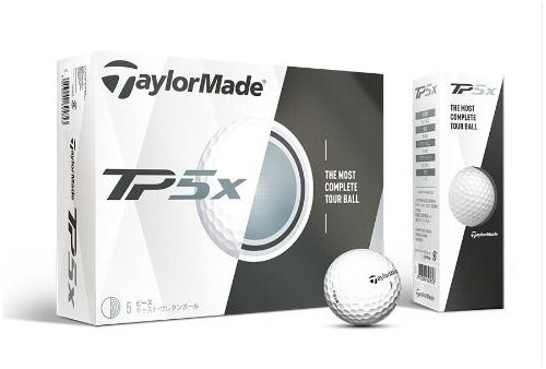 Image of Taylormade TP5x golf ball box