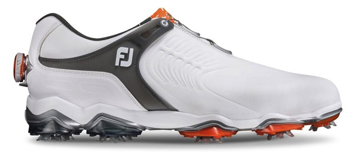 Image of the side of a Footjoy Tour S Boa golf shoe. best golf shoe of 2018