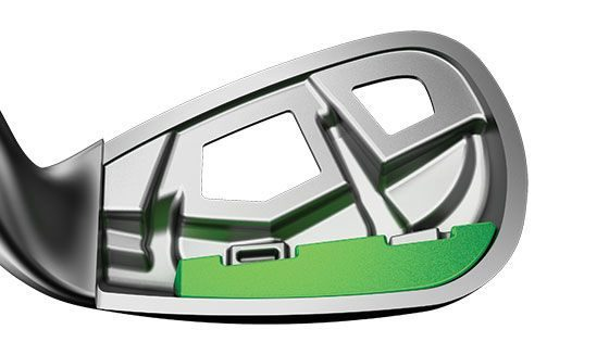 Callaway epic iron exo-cage clubhead construction. One of the best golf clubs for distance in 2018.