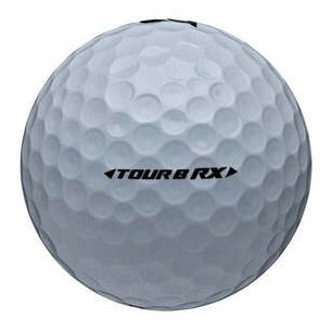 Image of a Bridgestone Tour B RX golf ball.