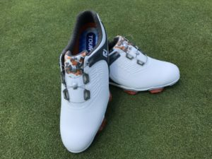 Image of the Footjoy Tour S BOA golf shoe. Best golf shoe of 2018
