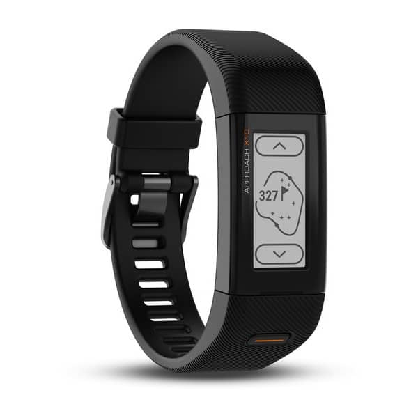 Image of a Garmin Approach s10 golf watch. Affordable lightweight golf watch.